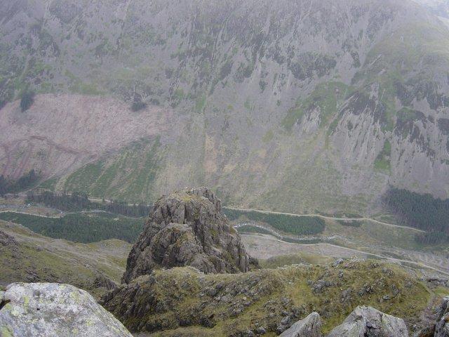 View of Pillar Rock