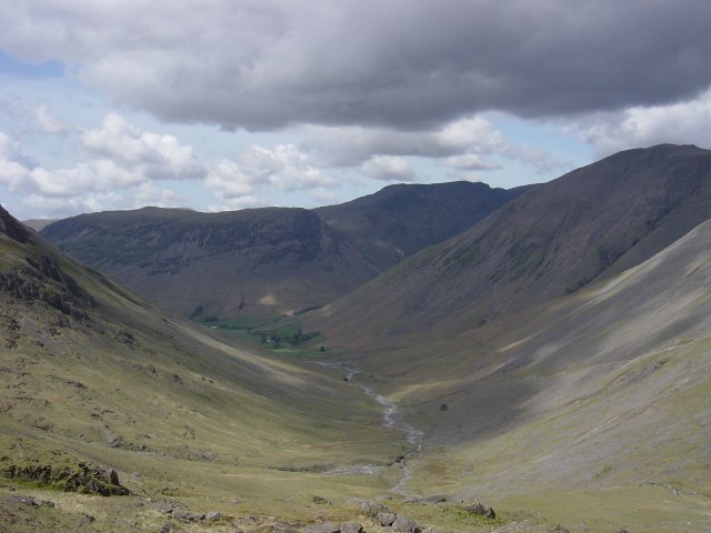 Towards Wasdale from the Corridor Route