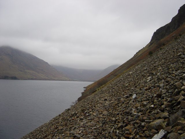 Wastwater Screes - 10th February 2004 032