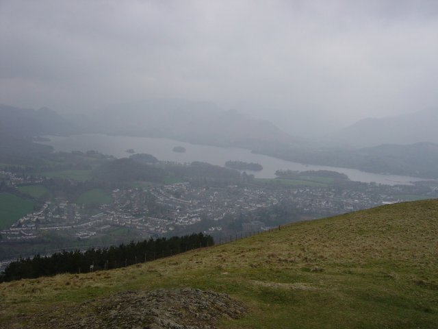 Latrigg, Walla Crag, High Rigg - 15th April 001