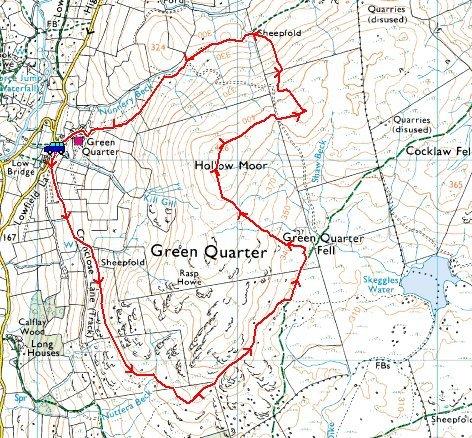 GQF route map