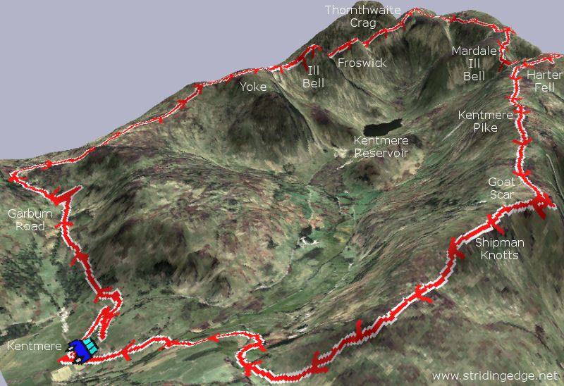 The Kentmere Horseshoe 3D