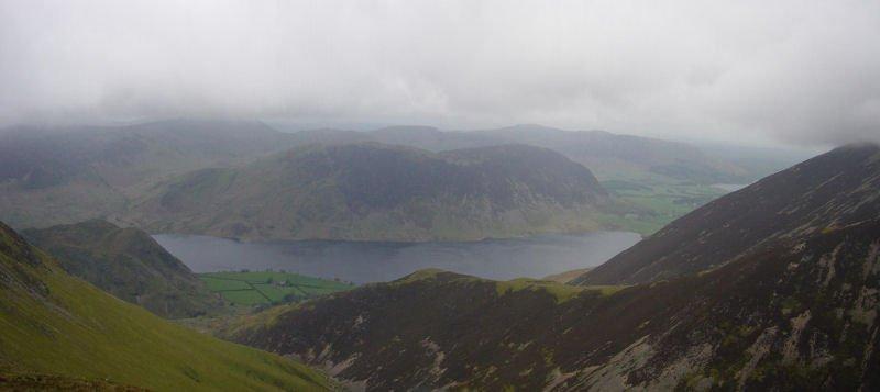 Grasmoor - panorama1