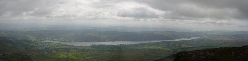 Coniston Old Man - panorama2