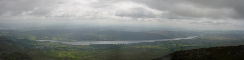 Coniston Old Man - panorama2