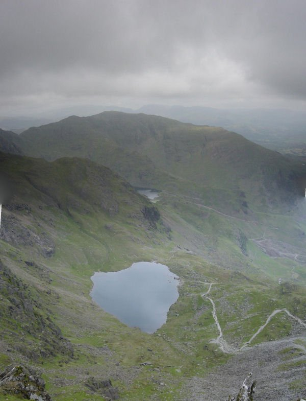 Coniston Old Man - panorama3