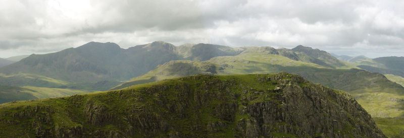 Coniston Round - panorama4