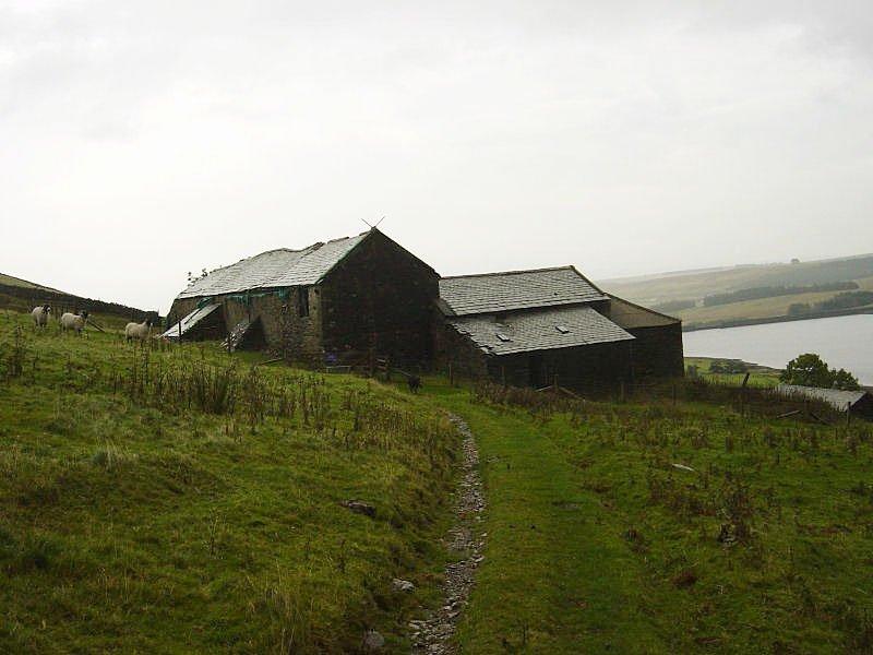 The Wet Sleddale Horseshoe - 10th October 046