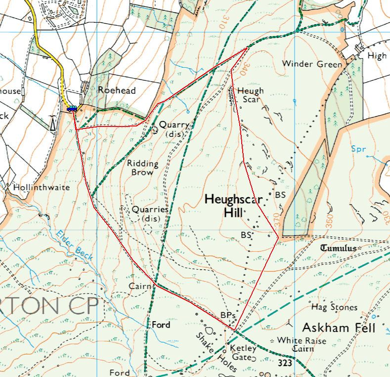 Heughscar Hill