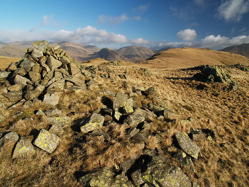 The view from the summit of Whin Rigg