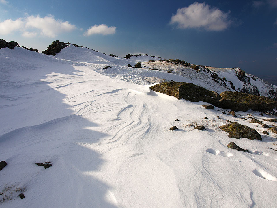 Scoat Fell snow