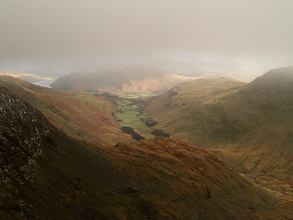 Grisedale from Dollywaggon Pike