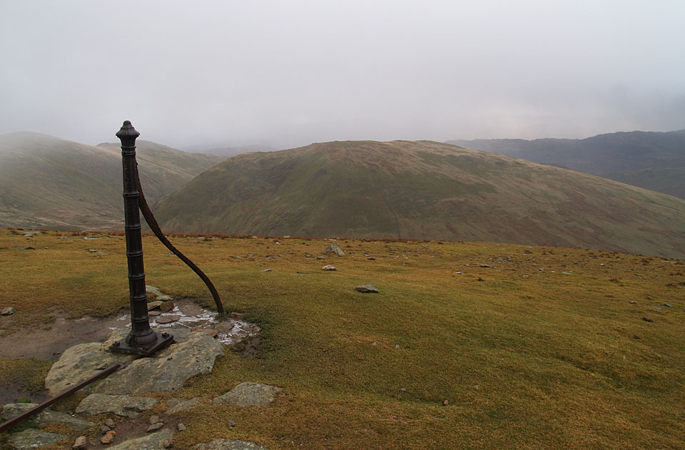 Seat Sandal from the old fence post below Dollywaggon Pike