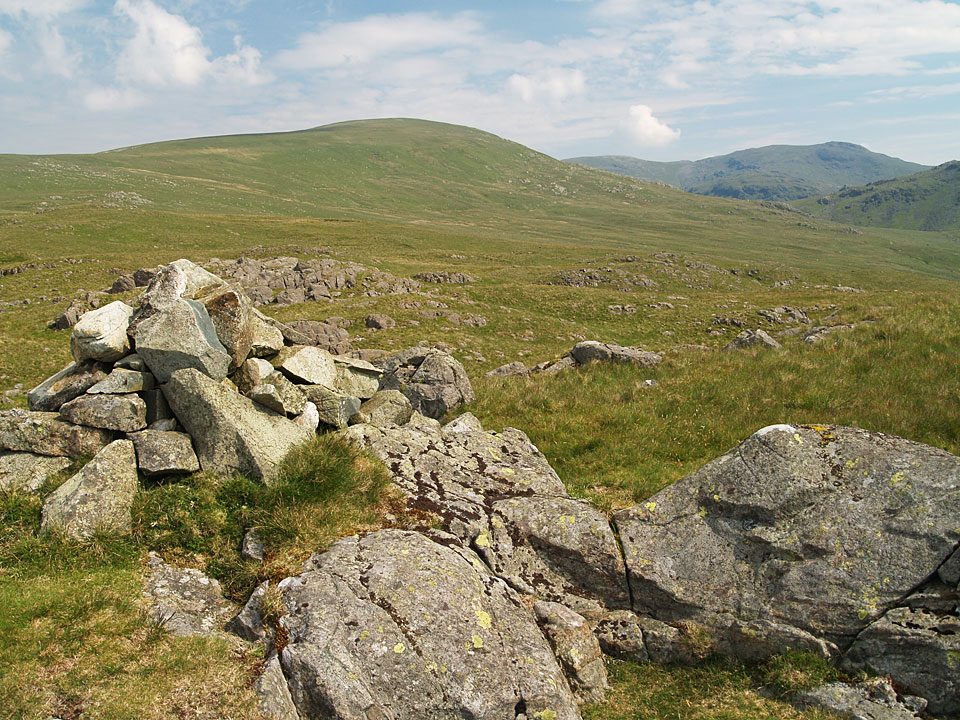 Seatallan and Red Pike from the summit of Buckbarrow