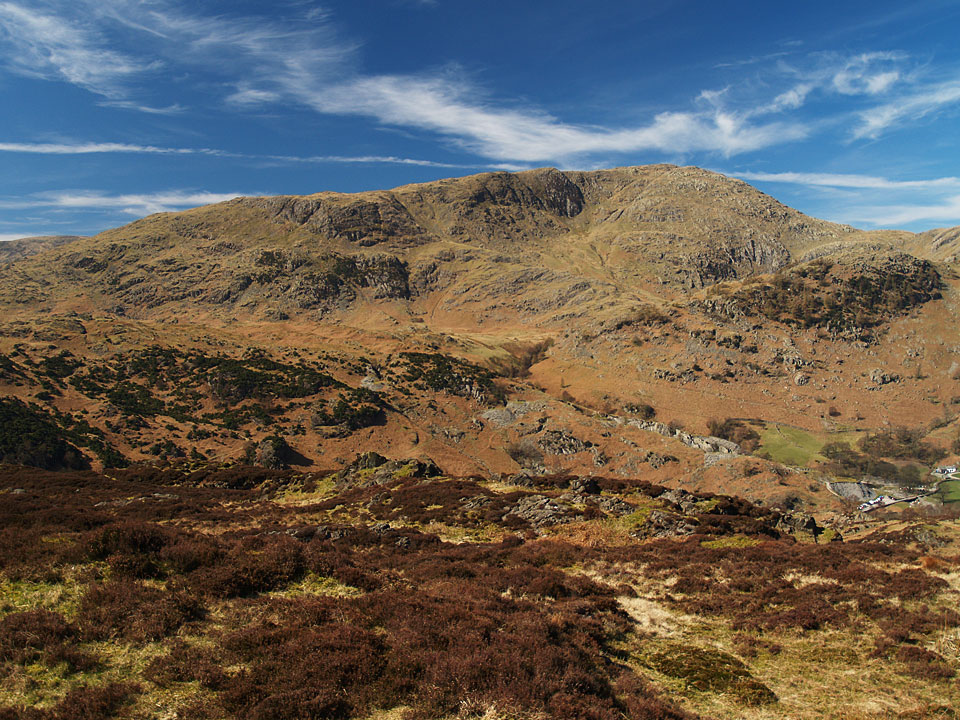 Wetherlam from Holme Fell.