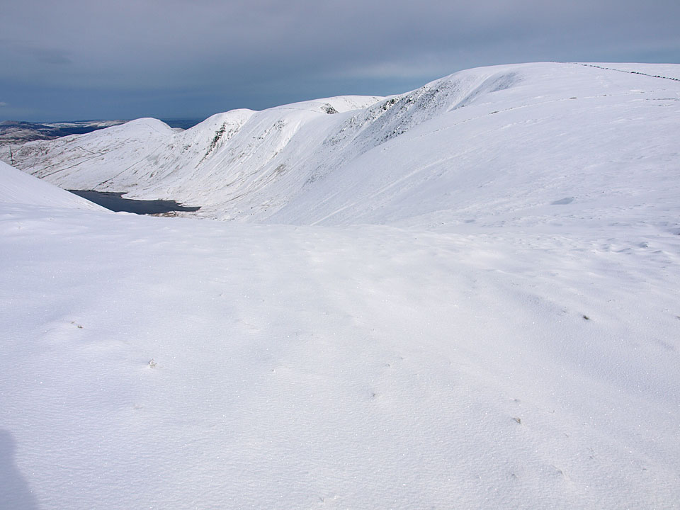 The ridge in Winter