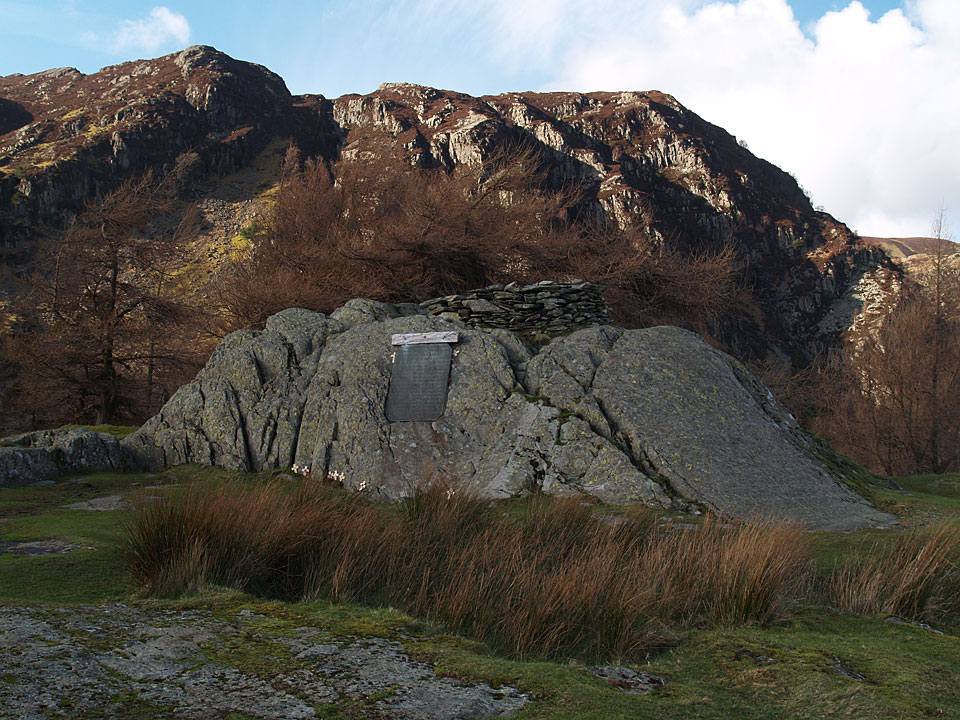 The summit of Castle Crag