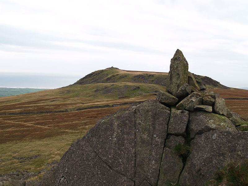 Kinmont Buck Barrow from Great Paddy Crag