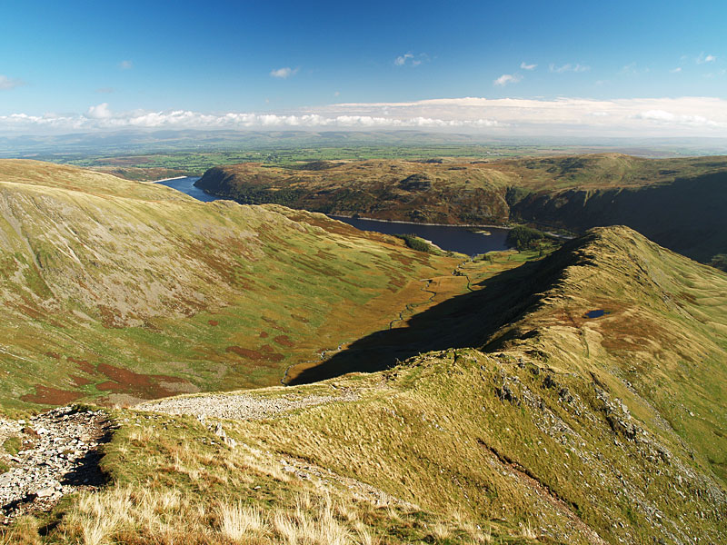 Looking along Riggindale to Mardale