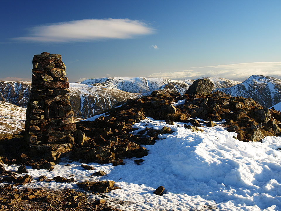 The summit of Red Screes