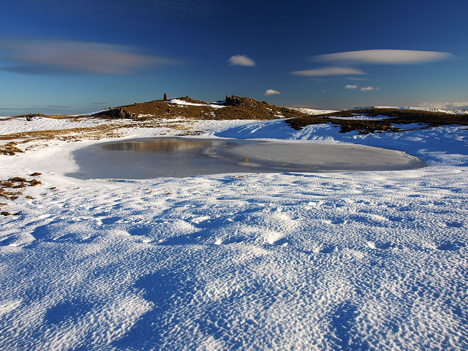 The summit tarn