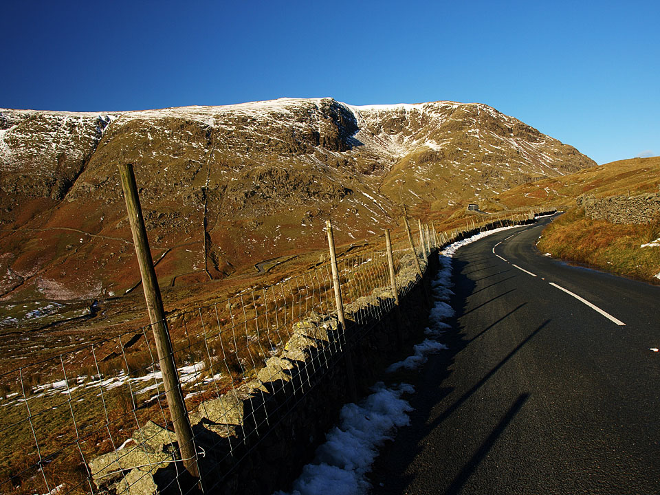 Red Screes from the Kirkstone Pass road