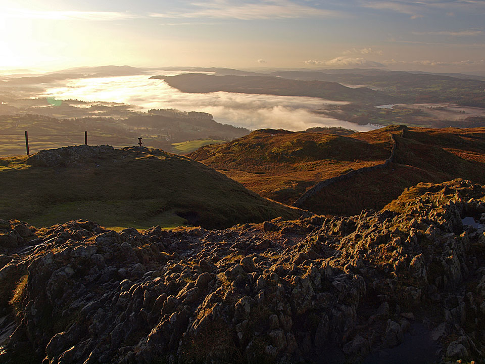 The stunning view from Wansfell Pike