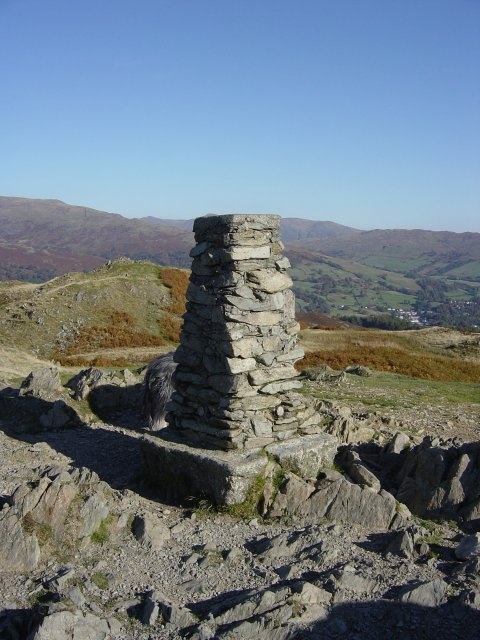 A summery Loughrigg Fell...