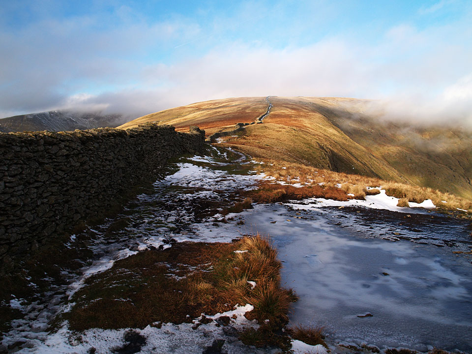 Looking back to Dove Crag from High Pike