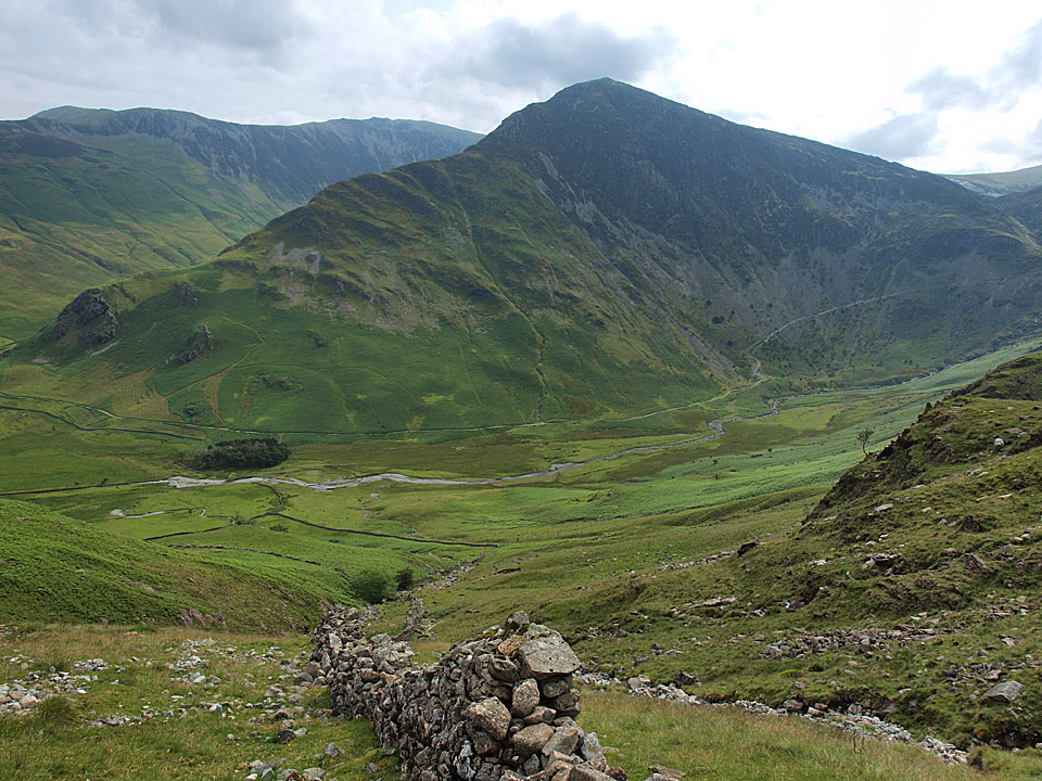 Looking across to Fleetwith Pike
