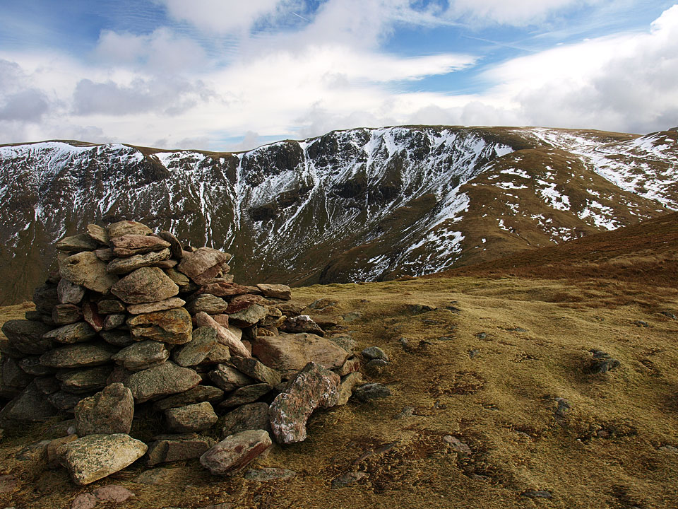 Rampsgill Head from Rest Dodd