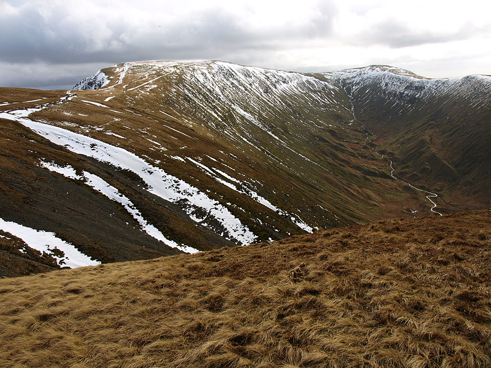 High Street and Thornthwaite Crag from The Knott