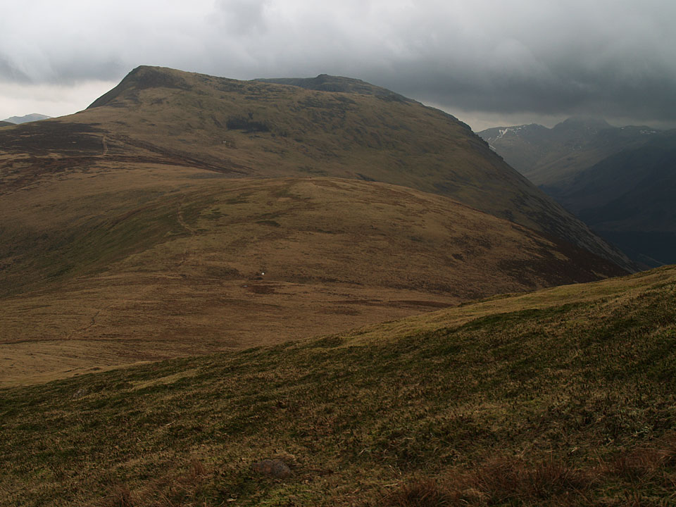Red Pike and High Stile over the small bump of Little Dodd