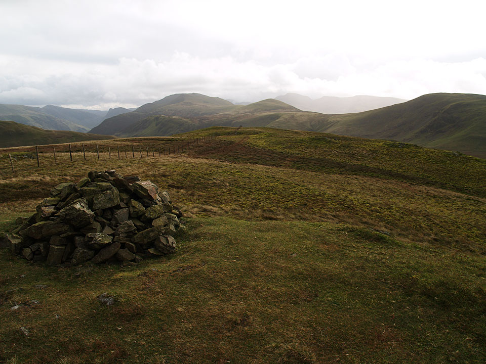 Looking towards High Stile, Starling Dodd and Great Borne