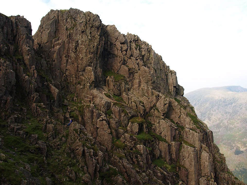 The Pillar from the Shamrock Traverse