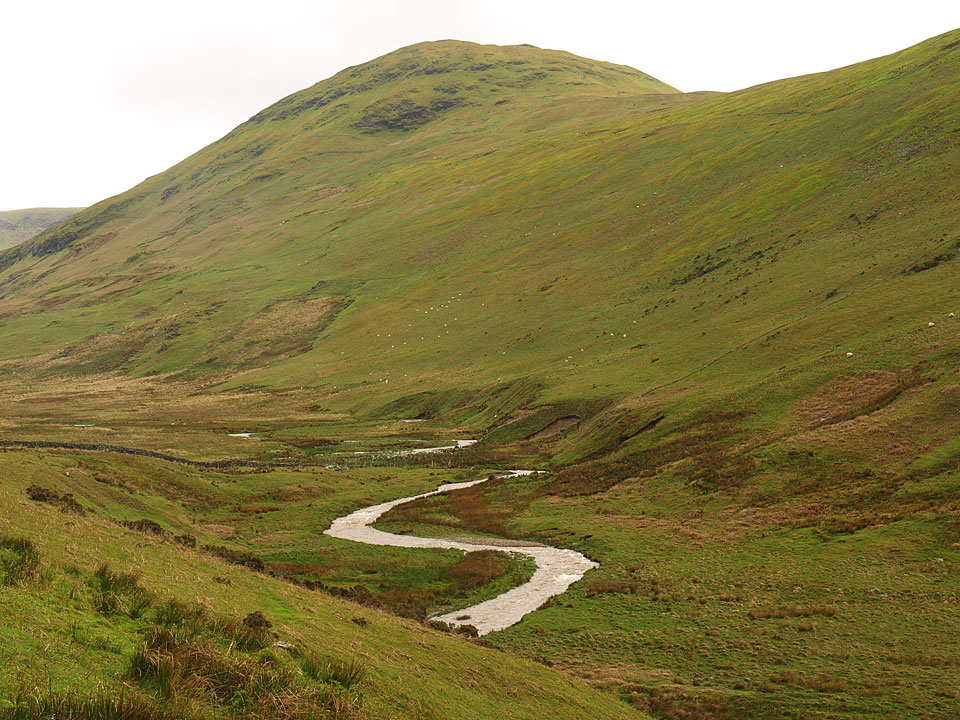 Hen Comb and Mosedale Beck