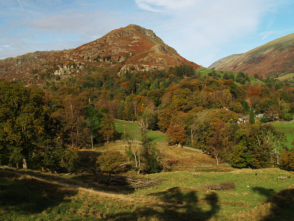 Helm Crag in Autumn