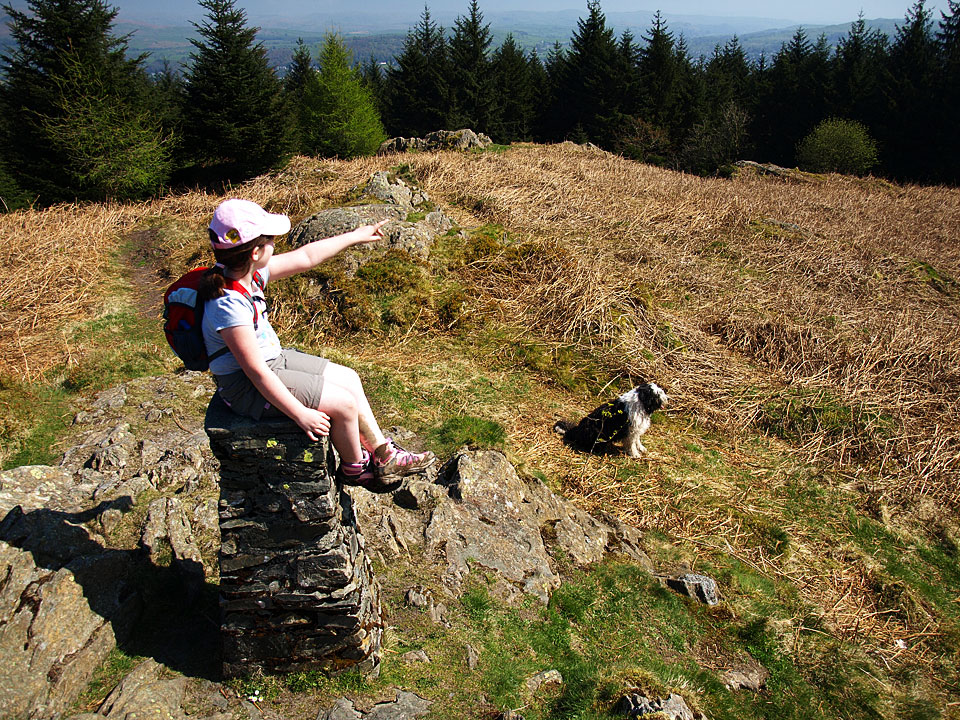 Connie on Claife Heights