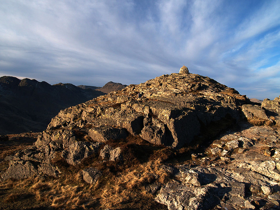 The summit of Pike o' Blisco