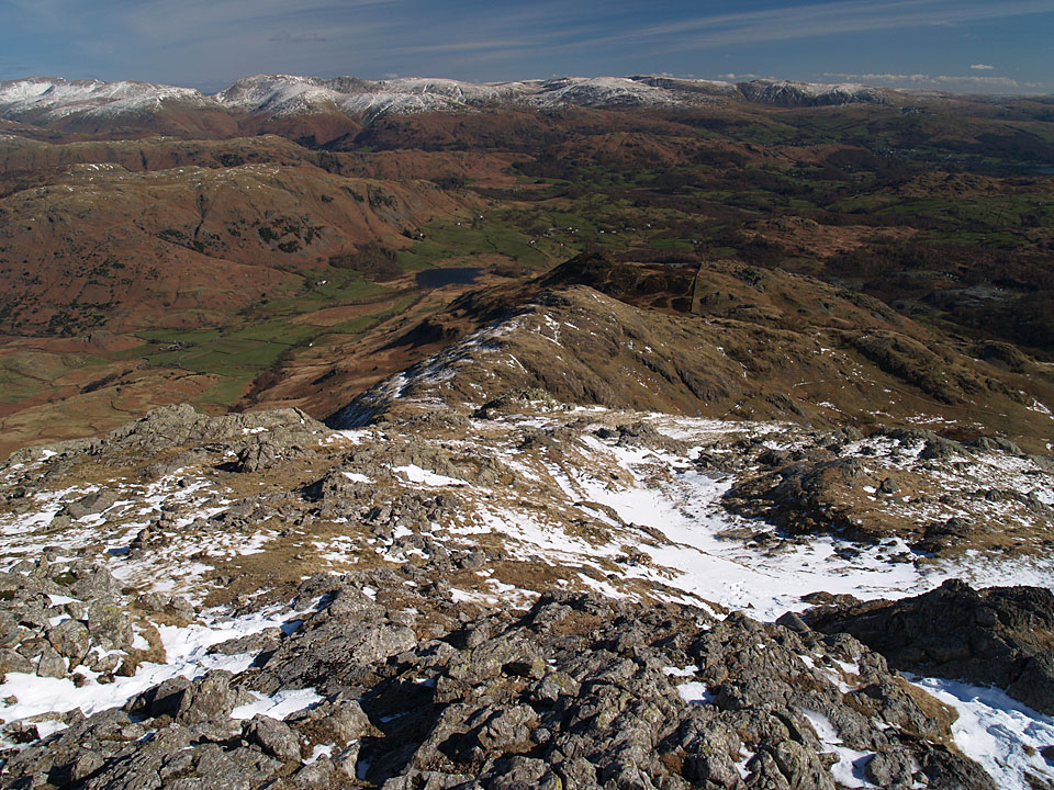 Wetherlam Edge from the summit