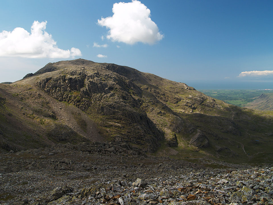Scafell Pike from Great End