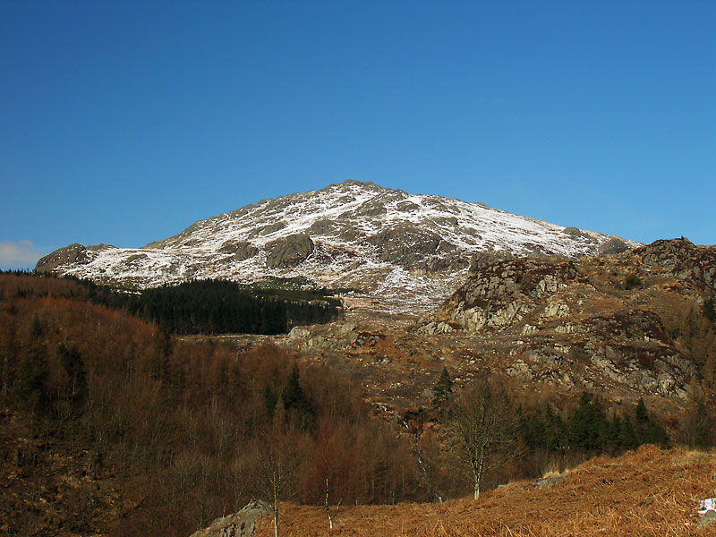 Harter Fell from the Duddon Valley