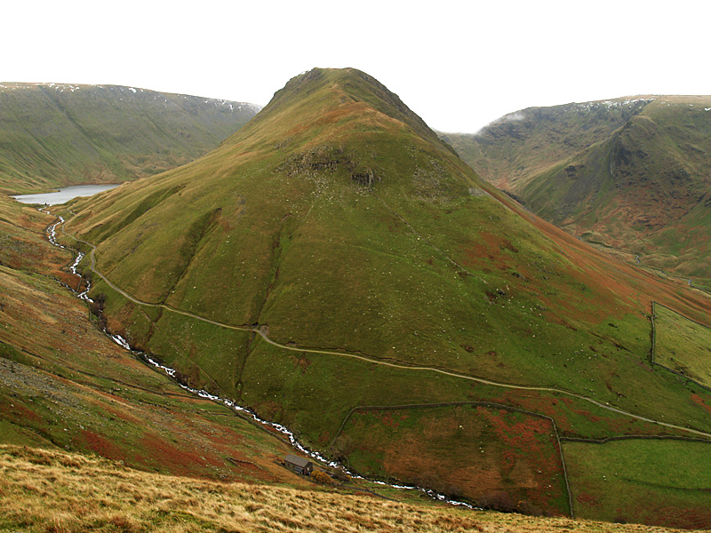 Gray Crag with Hayeswater now in view