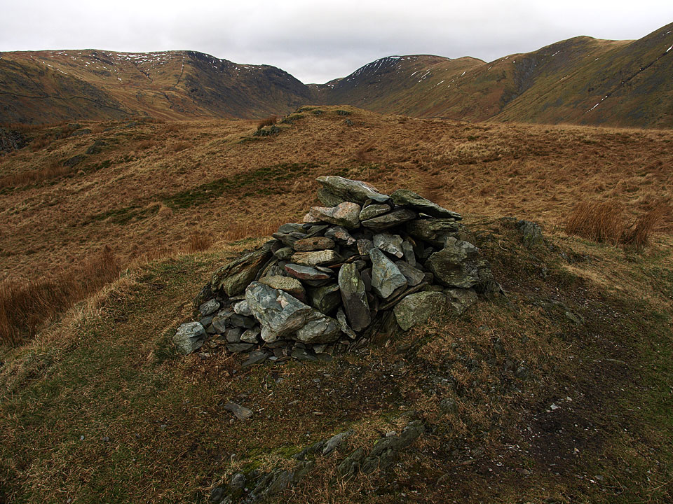 The summit of Troutbeck Tongue