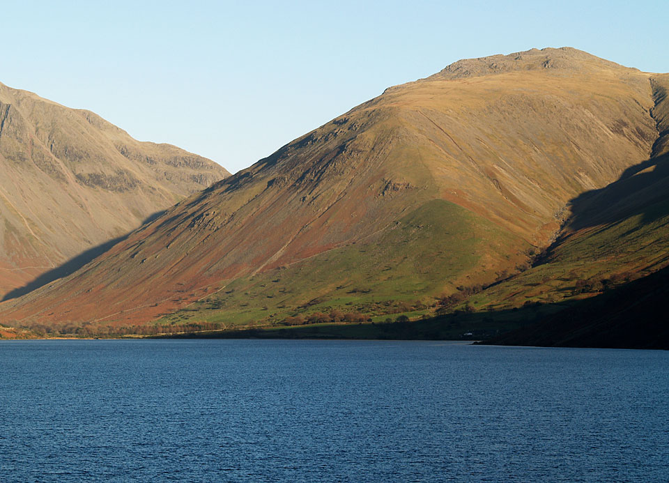 Lingmell across Wast Water