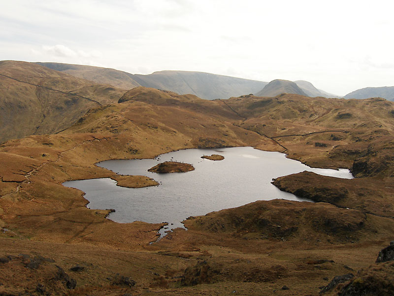 Angle Tarn from Angletarn Pikes southern summit