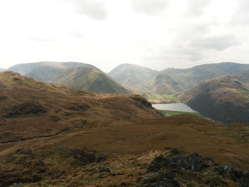 Brothers Water from Angletarn Pikes northern and main summit
