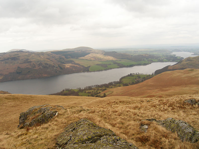 Ullswater from High Dodd