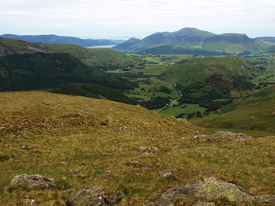 The view from Brown Crag