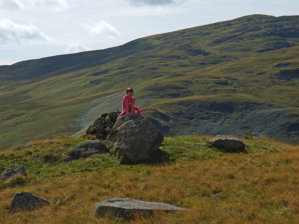 Connie on Water Crag in 2009
